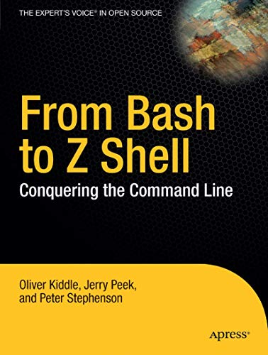 book cover of From Bash to Z Shell